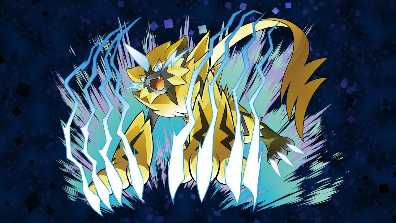 Pokemon Sword and Shield Zeraora