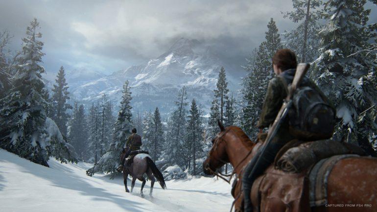 The Last of Us Pat II snow