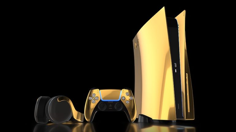 PlayStation 5 Gold