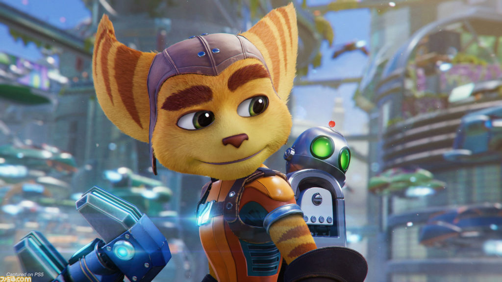 Showcasing Clank and Ratchet