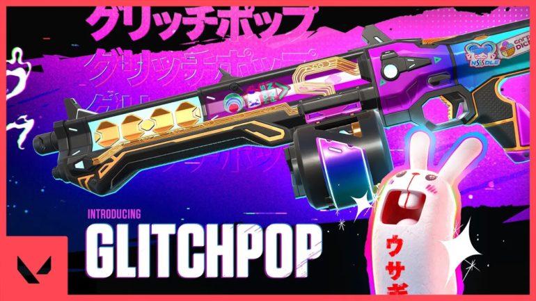 Valorant Glitchpop skins