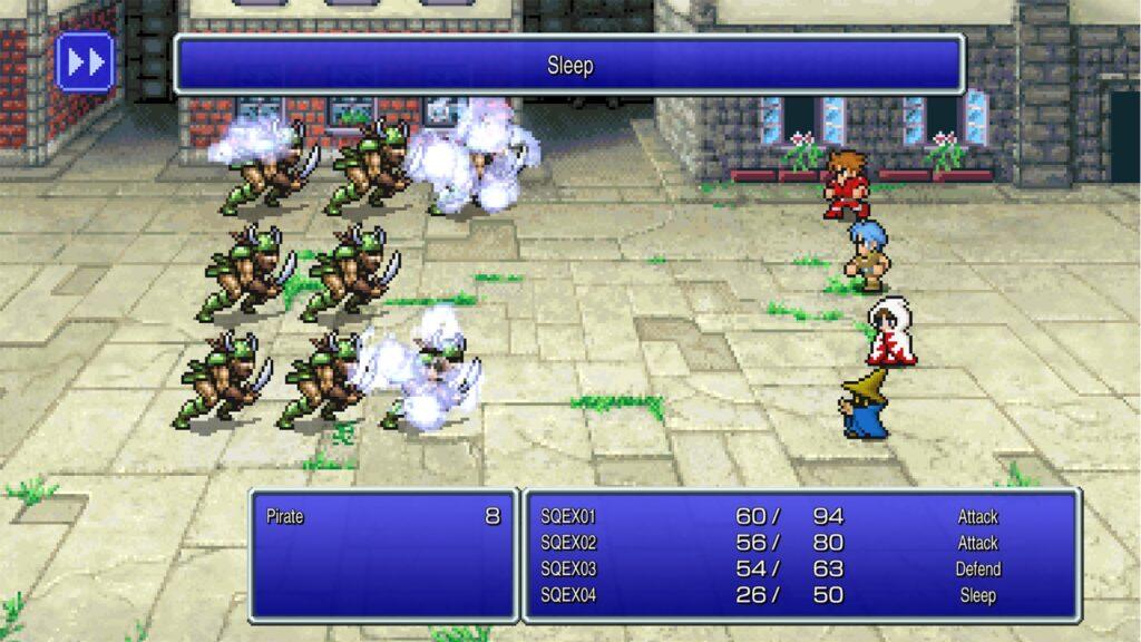 final fantasy pixel remaster ff1