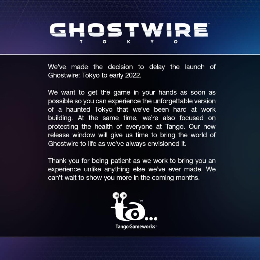 ghostwire tokyo 2022