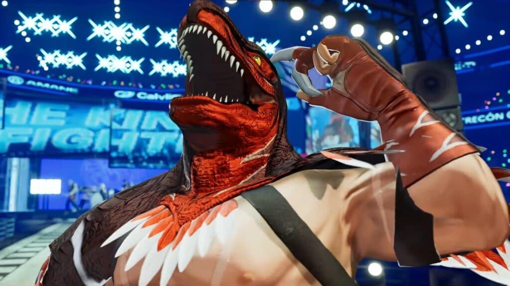 the king of fighters xv the king of dinosaurs