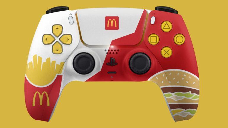 McDonald's PlayStation 5 controller