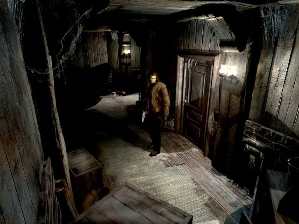 best horror games Alone in the Dark: The New Nightmare