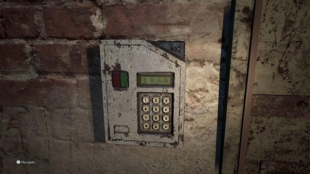 the medium secret door code