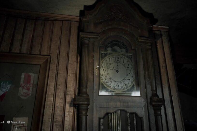 solve the clock puzzle