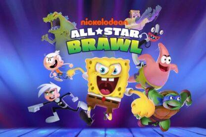Nickelodeon All-Star Brawl cover.